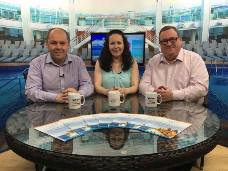 Richard Cross, Carly Nickson & John Cooper