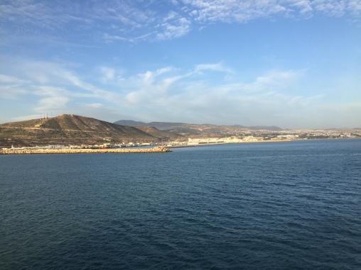 Agadir from the ship